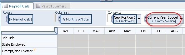 Naming Conventions for Cognos Planning D-List