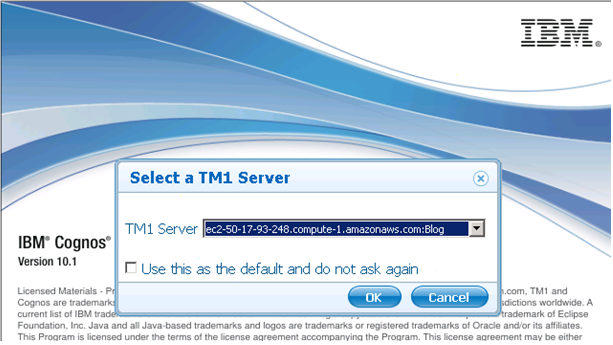 tm1 server